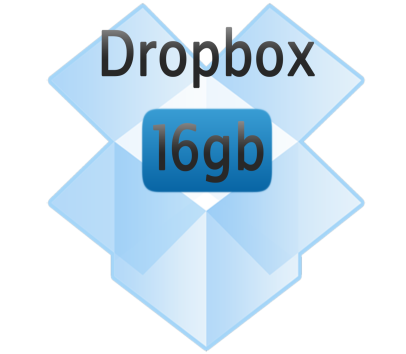 Get up to 16 GB of free Dropbox space!