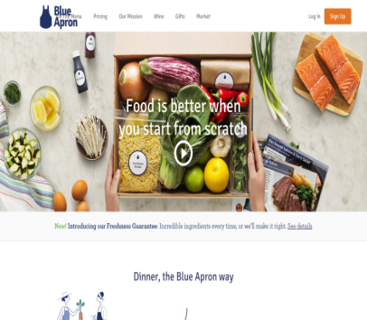 Get Free Meal by Blue Apron on my referral. Also get free delivery - 1 Meals Remaining