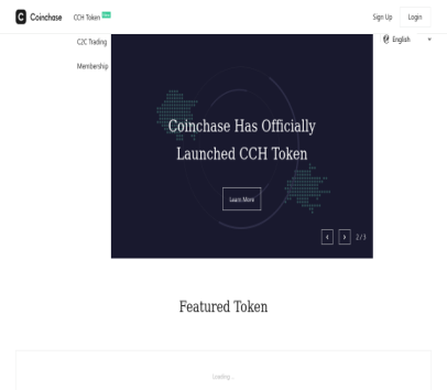 Get $20 from Coinchase. Coinchase protects your cryptocurrency and allows you to enjoy the profits of participating in Blockchain project crowdfunding.