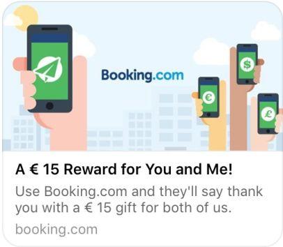 Risultati immagini per booking 15 euro