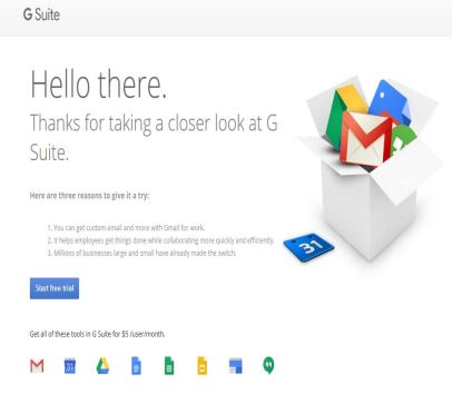 Get 20% off first year of G Suite when you sign up through my link and promo code. See Details