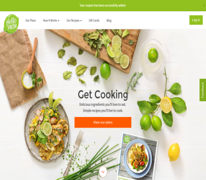 HelloFresh- $40 off your first box! (Only $20/two person meal, so that's two free meals!)