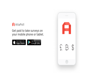 Get paid for short surveys. Earn 50 points for referral