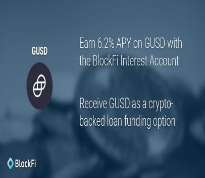 Earn 6% interest with your BTC or ETH