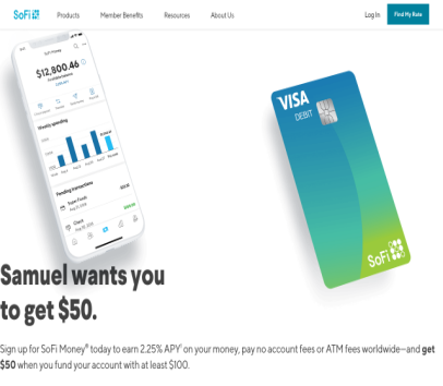 Hi! Join me on SoFi Money  with $100 or more and we'll both get $50.