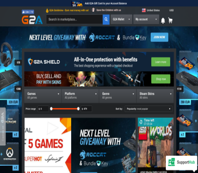 Best prices for games and free referral money using my link