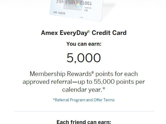 10,000 Membership Rewards? points after they use their new Card to make $1,000 in purchases within the first 3 months. American Express Credit Cards