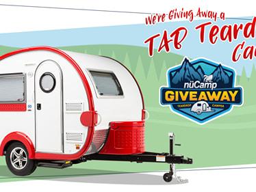 Win a teardrop camper new