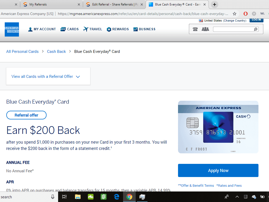 $200 Cash Back When You Spend $1000 With Card & In First 3 Months of Card Membership