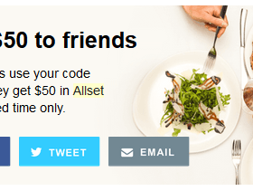Get $30 to spend at restaurants ($10 off first three meals)!