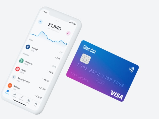 Get free revolut card and 10Euro bonus