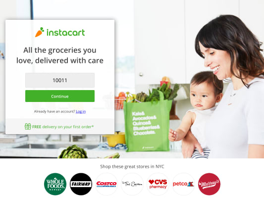 Get 10$ credit if you signup using my referral link (need to spend at least 35$) on Instacart