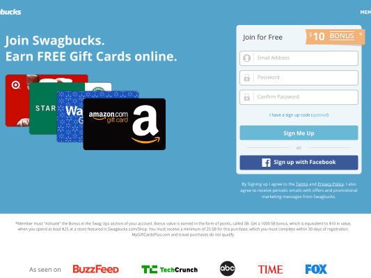 Get Started Making Money on Swagbucks with a 300 SB referral bonus!