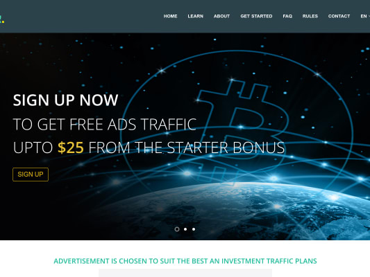 Earn Bitcoin Free $25 Sign up bunos + 0.01 profit everytime you log in to your account