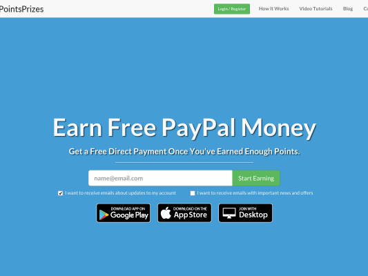 Easy Way to Earn GiftCards or Money to PayPal