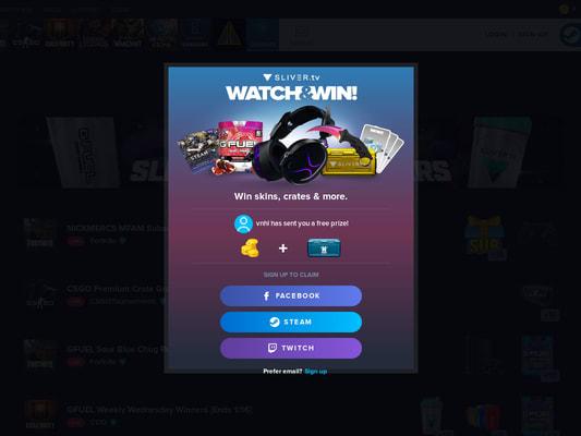 Earn free paypal credit/fortnite vbucks by watching streams