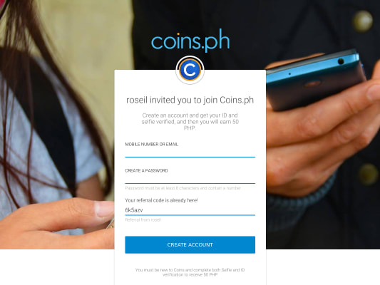 Earn 50 PHP BTC and Philippine wallet