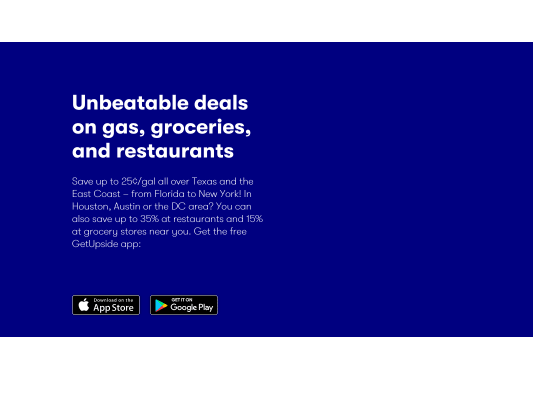 Get 15c/gallon off your first fill-up plus future cash-back for gas purchases