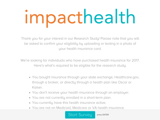 Get $25 if you take this quick survey and qualify