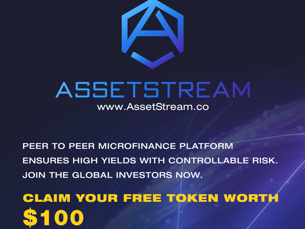 8000 AST for free on sign up. Worth 100$. Earn more investing and refering