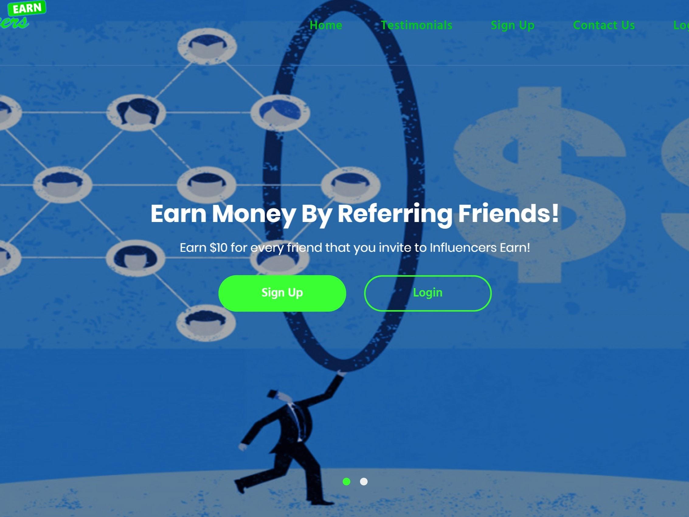 Earn $1,000 dollars in one day, $25 sign up bonus