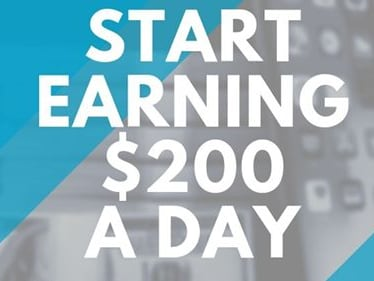 Sign up today for a $25 bonus get started and earn $2 for click
