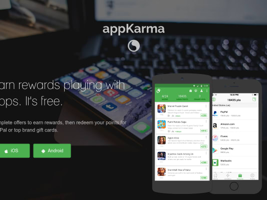 Earn 300 Bonus Points on AppKarma when you use Referral Code