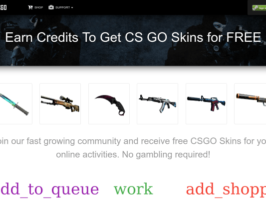 Get 250 credits towards a CS:GO Skin (Easiest Way)