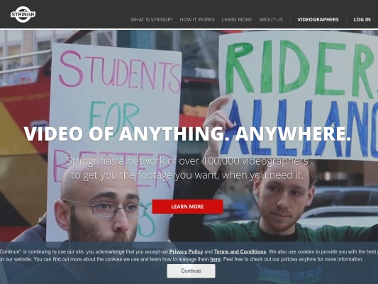 $10.00 extra on your first sold video on Stringr.
