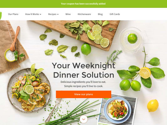 Get $40 on HelloFresh order + free delivery