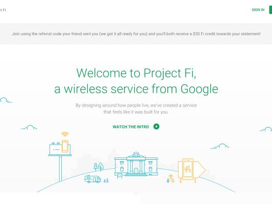 20$ off Mobile plan on Google
