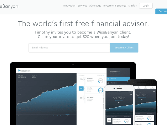 Get $20 Sign-Up Bonus on investment Service