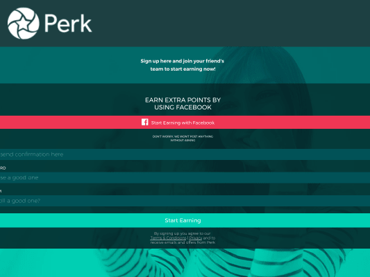 Perk Refer a Friend (Referral Bonus May Vary Over Time)