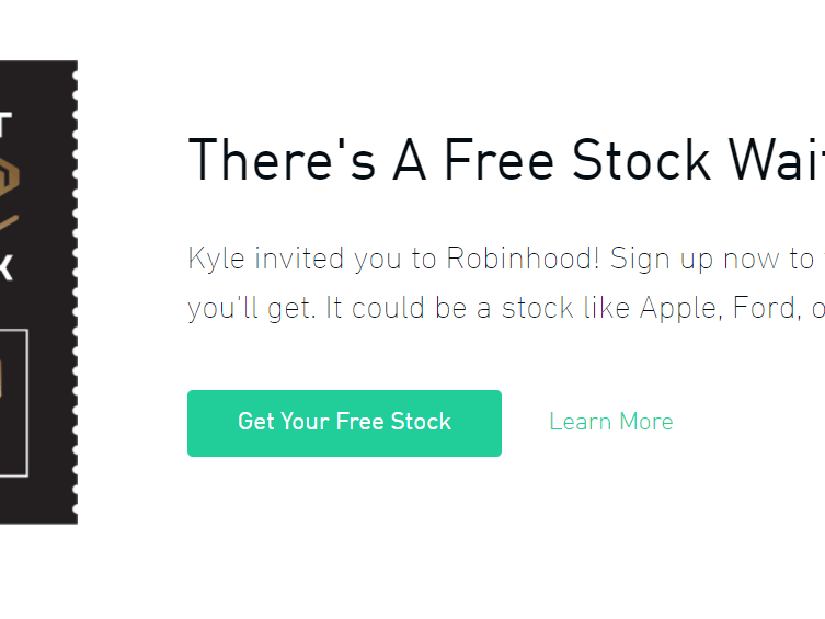 Join Robinhood and we
