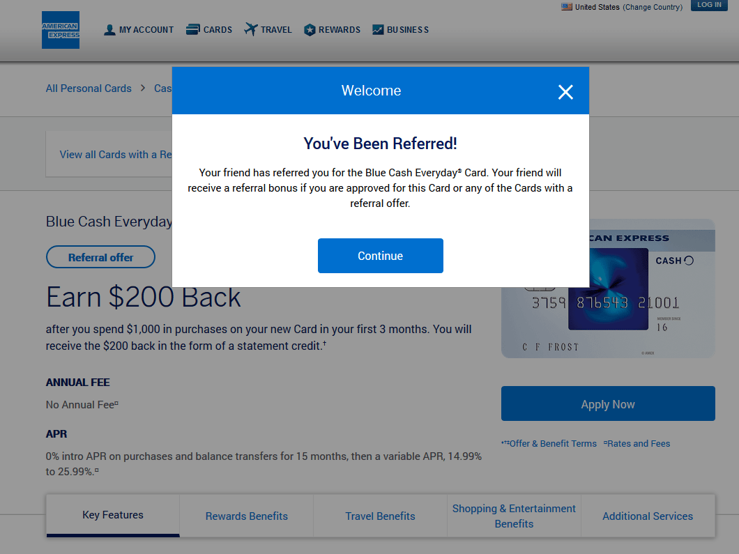 Earn $200 cash back as statement credit after you spend $1,000 in first 3 months.