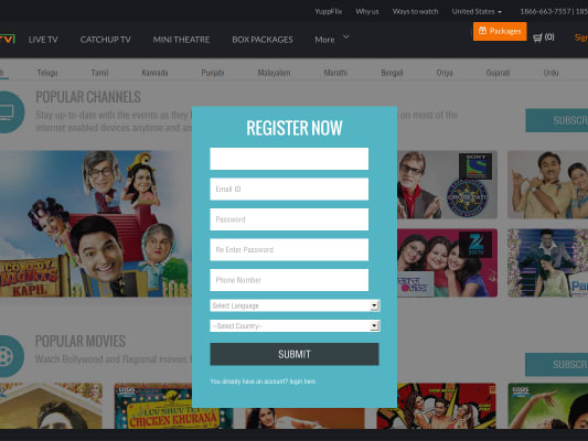 Free 1 Month or 15 days with Malayalam yearly or 6 months Package