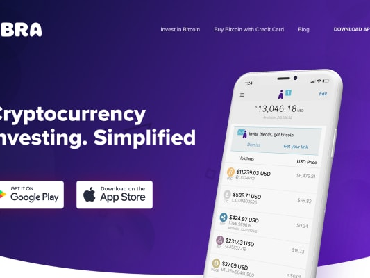 Abra app (cryptocurrency) bonus of $25 when you use a referral link, download the app and deposit $5 or more