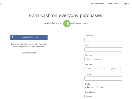 Ibotta- Earn an extra $10