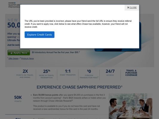 Earn 50,000 bonus points with Chase Sapphire Preferred - That