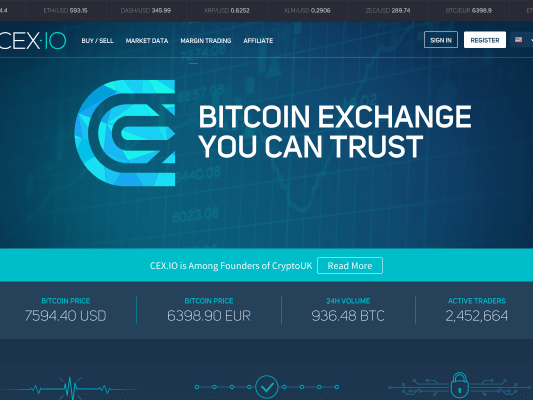 Buy BTC or ETHEREUM with cash on British controled exchange CEX