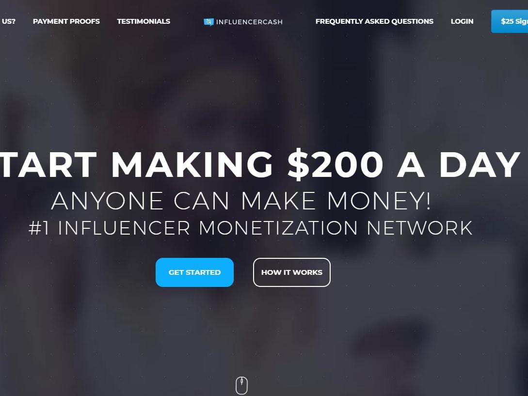 Get $25 sign up bonus make money to refer your friends on Facebook
