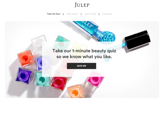 Get a free polish set when you join Julep Beauty Box.