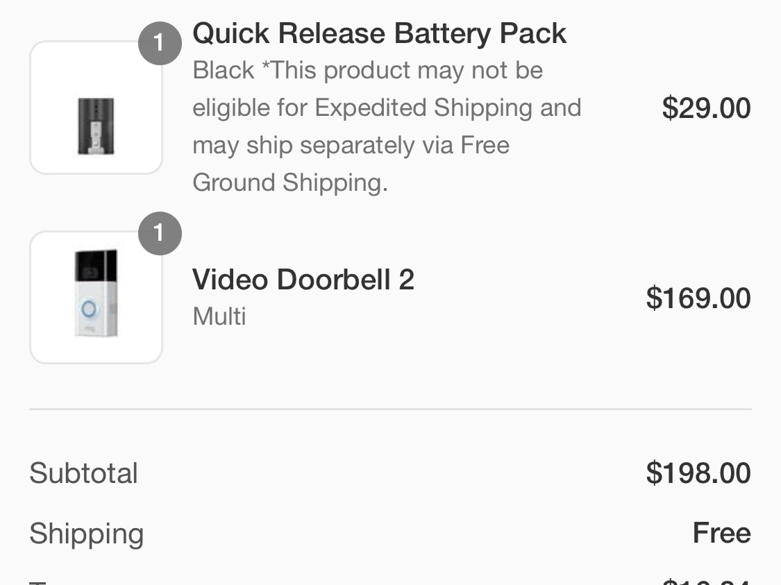 Get a Ring Doorbell for free, $10 in Ring credit for every referral!
