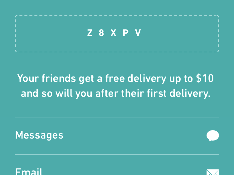Postmates $10 Discount - Get anything delivered with no delivery fee!