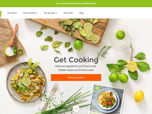 Save $40 on your first order of HelloFresh using my referral link