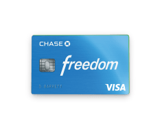 Earn $150 on a rewarding Chase Freedom card