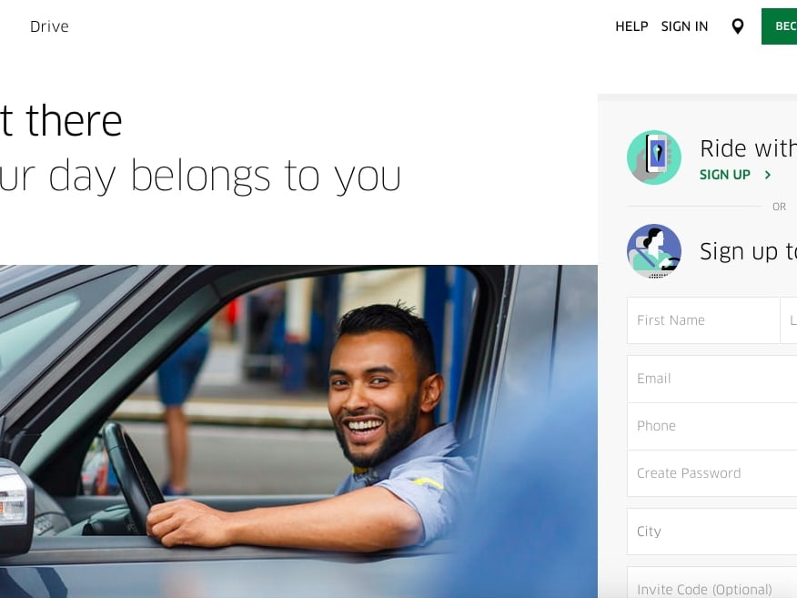 $5 Off First 4 Rides With Uber