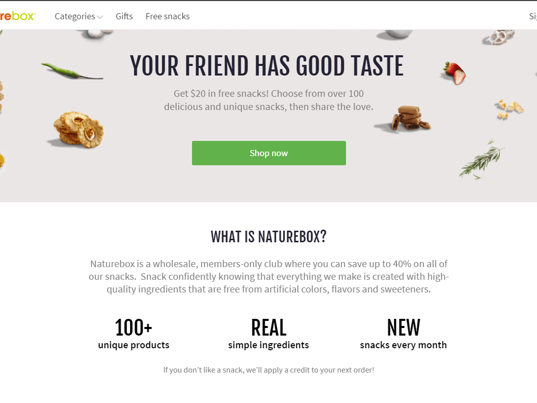 Category - Food - ShareReferrals | Refer a Friend