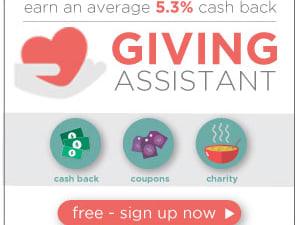 Get $5 sign up bonus on Giving Assistant!