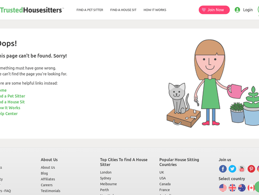 20% OFF Trusted Housesitters